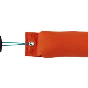 1/2LB Dog Training Dummy orange