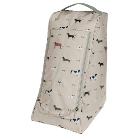 Sophie Allport Woof! Oilcloth Boot Bag