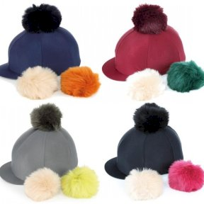 Switch It Pom Pom Hat Cover with interchangeable pom poms in All Colours