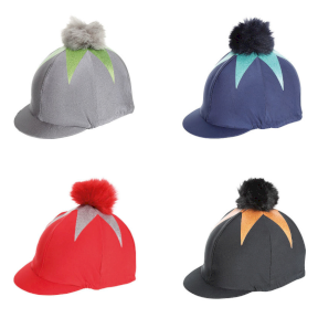 Pom Pom Hat Cover with Big Star All Colours