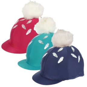Feather Print Hat Cover All Colours