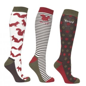 Toggi Harwood 3 pk Ladies Socks