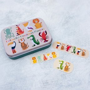 Colourful Creature Plasters Tin