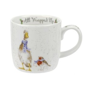 Wrendale All Wrapped Up Mug