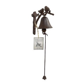 Songbirds Cast Iron Door/Garden Bell