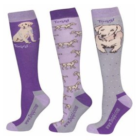 Toggi Marguerite Ladies Socks - Plum