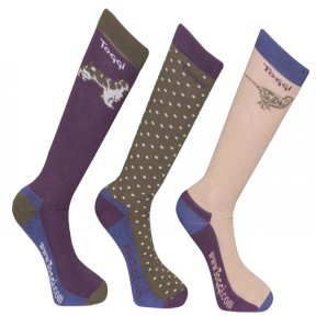 Toggi Tocade Mens Country Socks 3 Pk