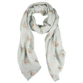 Wrendale Hare Scarf