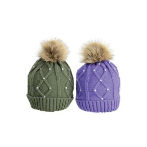 Dakota Diamante Bobble Hat