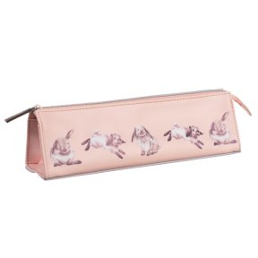 Pink 'Some Bunny' Rabbit Cosmetic Bag/Pencil Case