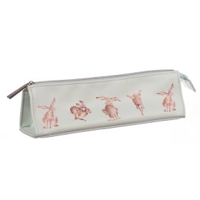 Wrendale Hare Cosmetic Bag - Brush Bag - Pencil Case