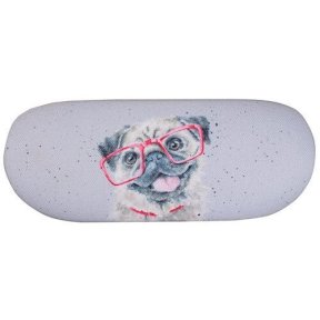 Wrendale Pug Glasses Case