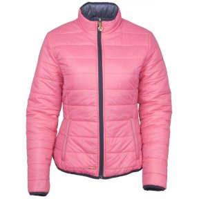 Annalise Padded Jacket - Light Diesel/Pink