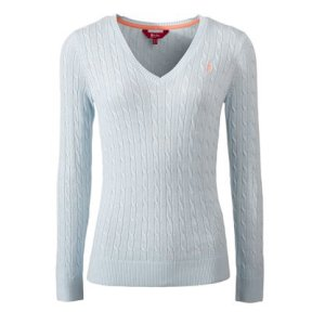 JACK MURPHY KATIE SWEATER - LIGHT BLUE