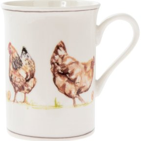 Chickens China Mug