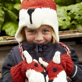 Kids Fox Hat