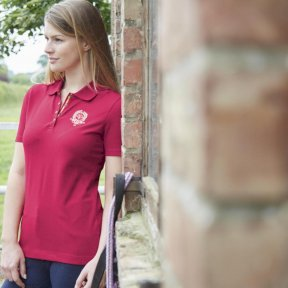Toggi Mina Ladies Polo Red