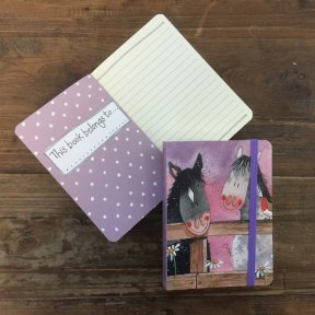 Horse Whispers Small Chunky Notebook