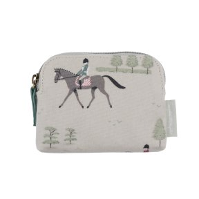 Sophie Allport Horses Oilcloth Coin Purse