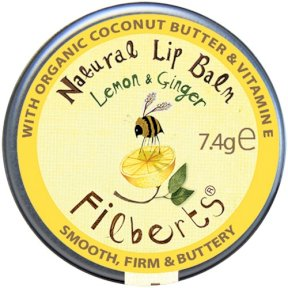 Filberts of Dorset Natural Lip Balm - Lemon & Ginger