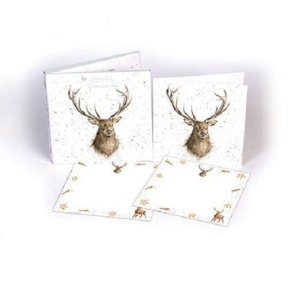Wrendale 'Portrait of a Stag' Notecard Pack
