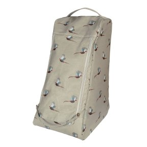 Sophie Allport Pheasant Oilcloth Boot Bag - Large