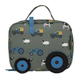 Sophie Allport On The Farm Oilcloth Lunch Bag