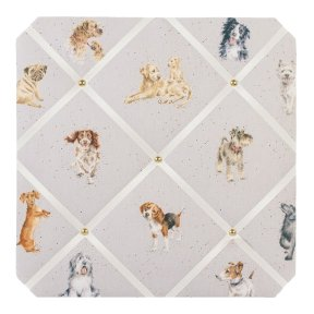 Wrendale 'A Dogs Life' Fabric Notice Board