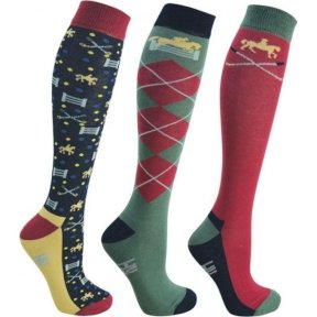 Hyfashion Polo Adult Socks - 3 Pack