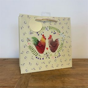 Alex Clark Chickens Medium Gift Bag