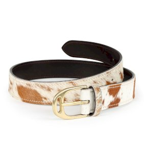 Aubrion Cow Hair Belt - 35mm