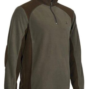 Percussion Mens Fleece - Olive Green