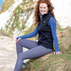Aubrion Tinkham Reflective Riding Ladies Tights