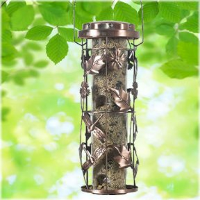 Copper Garden Feeder