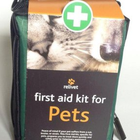 Relivet First Aid Kit for Pets