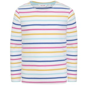 Lazy Jacks Girls Striped Breton