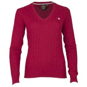 Toggi Devin Ladies V Neck Cable Jumper