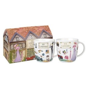 Lordship & Ladyship Set of 2 Mugs