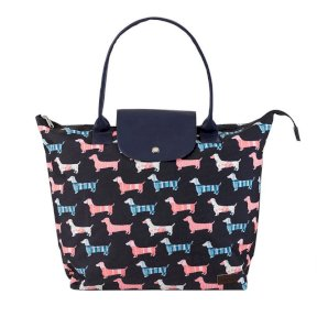 Jack Murphy Fold Up Bag - Dog Design