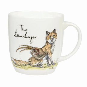 The Gamekeeper Bone China Mug - Fox
