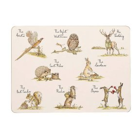 Country Pursuits Placemats - Set of 6