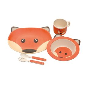 Fox Eco Bamboo Dinner Set