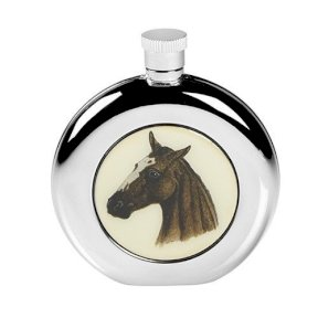 Horse Hip Flask