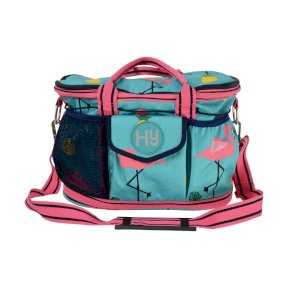 Hy Flamingo Grooming Bag - Teal/Provence Blue
