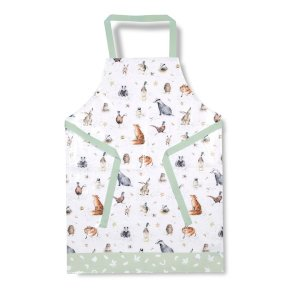 Wrendale 'Country Set' Oilcloth Apron