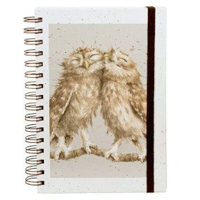 Wrendale 'Birds of a Feather' Owl Spiral Notebook