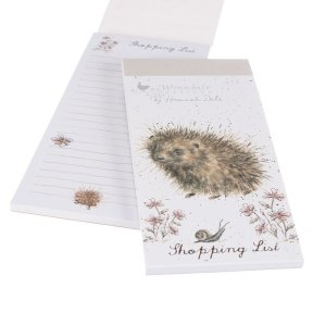Wrendale 'A Prickly Encounter' Hedgehog Magnetic Shopping Pad