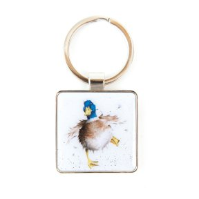 Wrendale 'A Waddle & a Quack' Duck Keyring