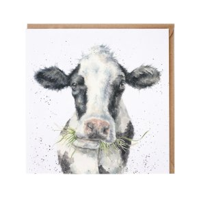 Wrendale Country Set 'Milk Maid' Cow Card