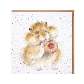 Wrendale Country Set 'The Diet Starts Tomorrow' Hamster Card